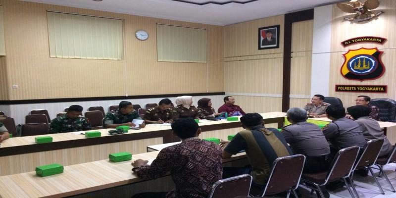 Rapat Awal Tahun 2019 Satgas Saber Pungli Kota Yogyakarta