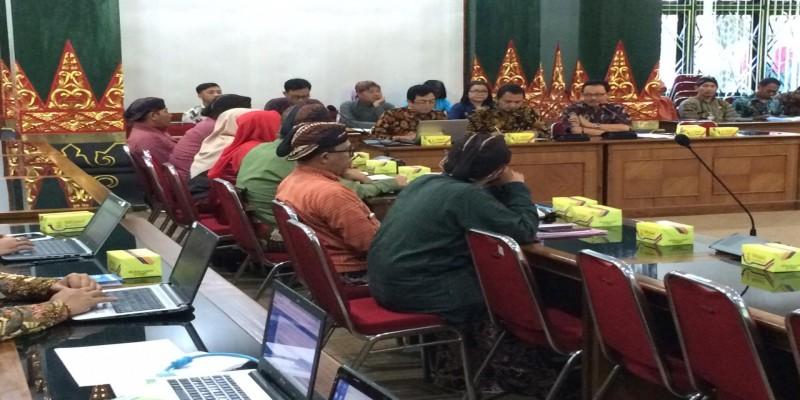 Rapat Koordinasi Pencegahan Korupsi dengan KPK-RI