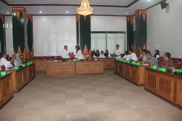 Entry Meeting Pemeriksaan Bantuan Parpol oleh BPK