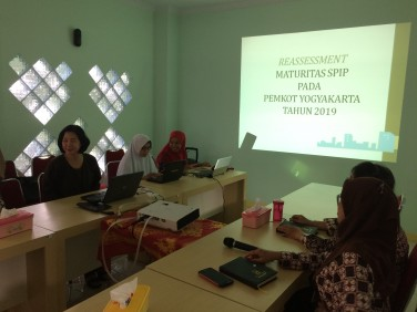 Workshop E-SPIP di Inspektorat Kota Yogyakarta