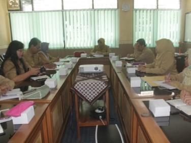 Pemantauan dan evaluasi dana kelurahan Triwulan I Tahun 2019 oleh Inspektorat DIY