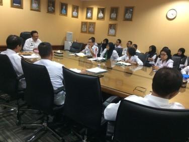 Acara Management Oversight Kepada Inspektorat oleh Wawali, Sekda, Ka Bappeda, plt Ka BKPP