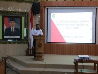 Gelar Pengawasan Daerah Pemerintah Kota Yogyakarta 2019
