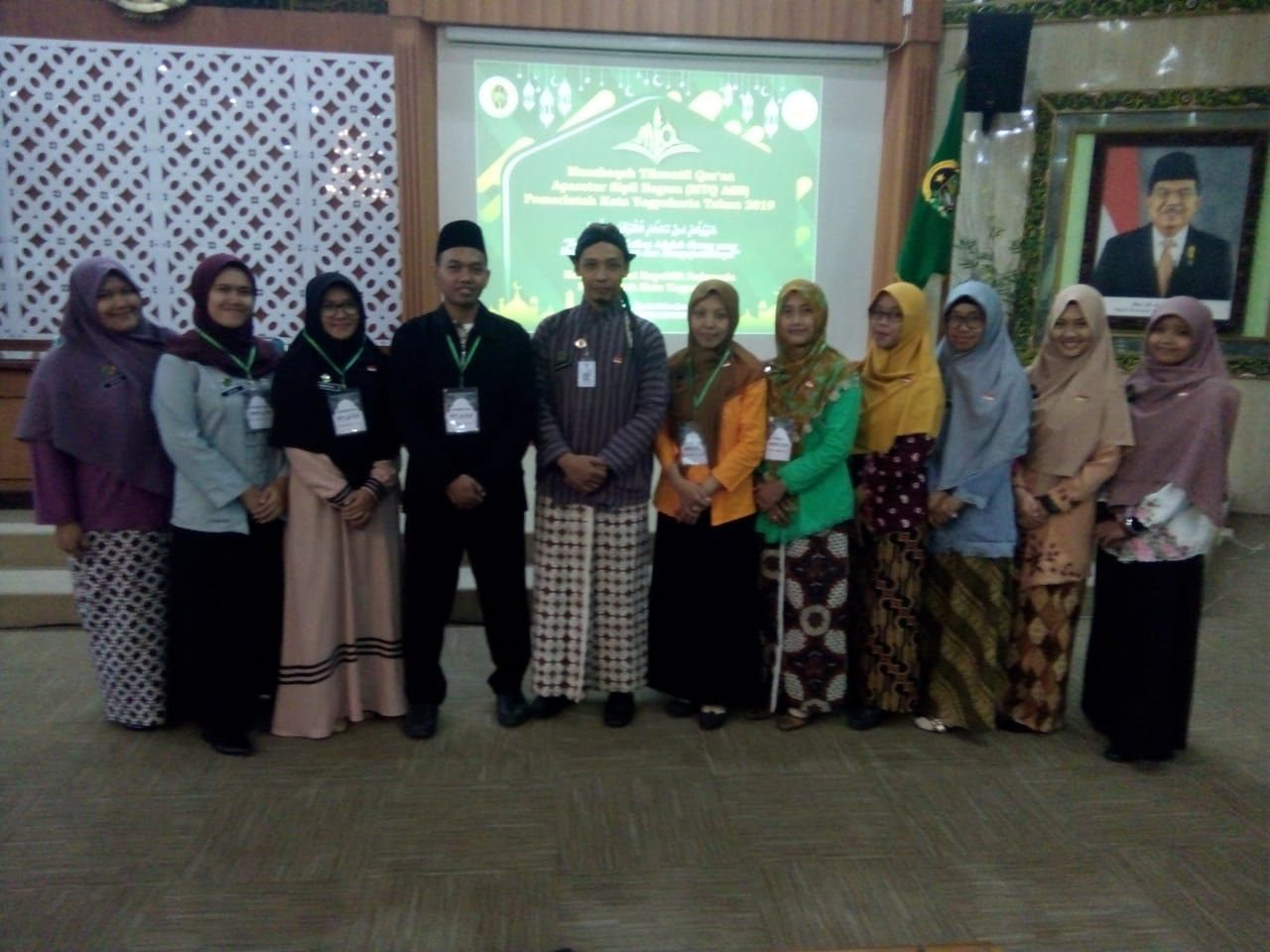 Pencapaian Luar Biasa Tim Inspektorat dalam Lomba MTQ Pemerintah Kota Yogyakarta