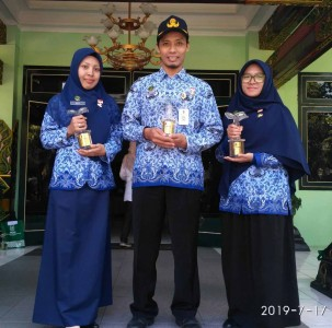 Penyerahan Hadiah  Lomba MTQ ASN Pemerintah Kota Yogyakarta