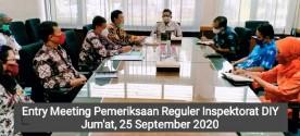 Entry Meeting Pemeriksaan Reguler