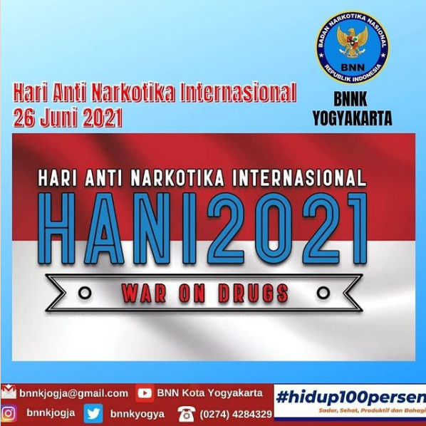 HARI ANTI NARKOTIKA INTERNASIONAL (HANI) 2021