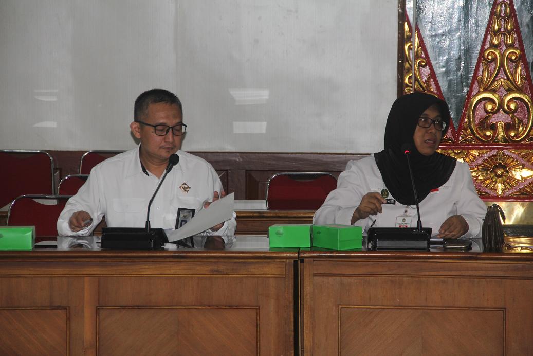 Entry Meeting Pemeriksaan Bantuan Parpol oleh BPK RI Tahun 2019