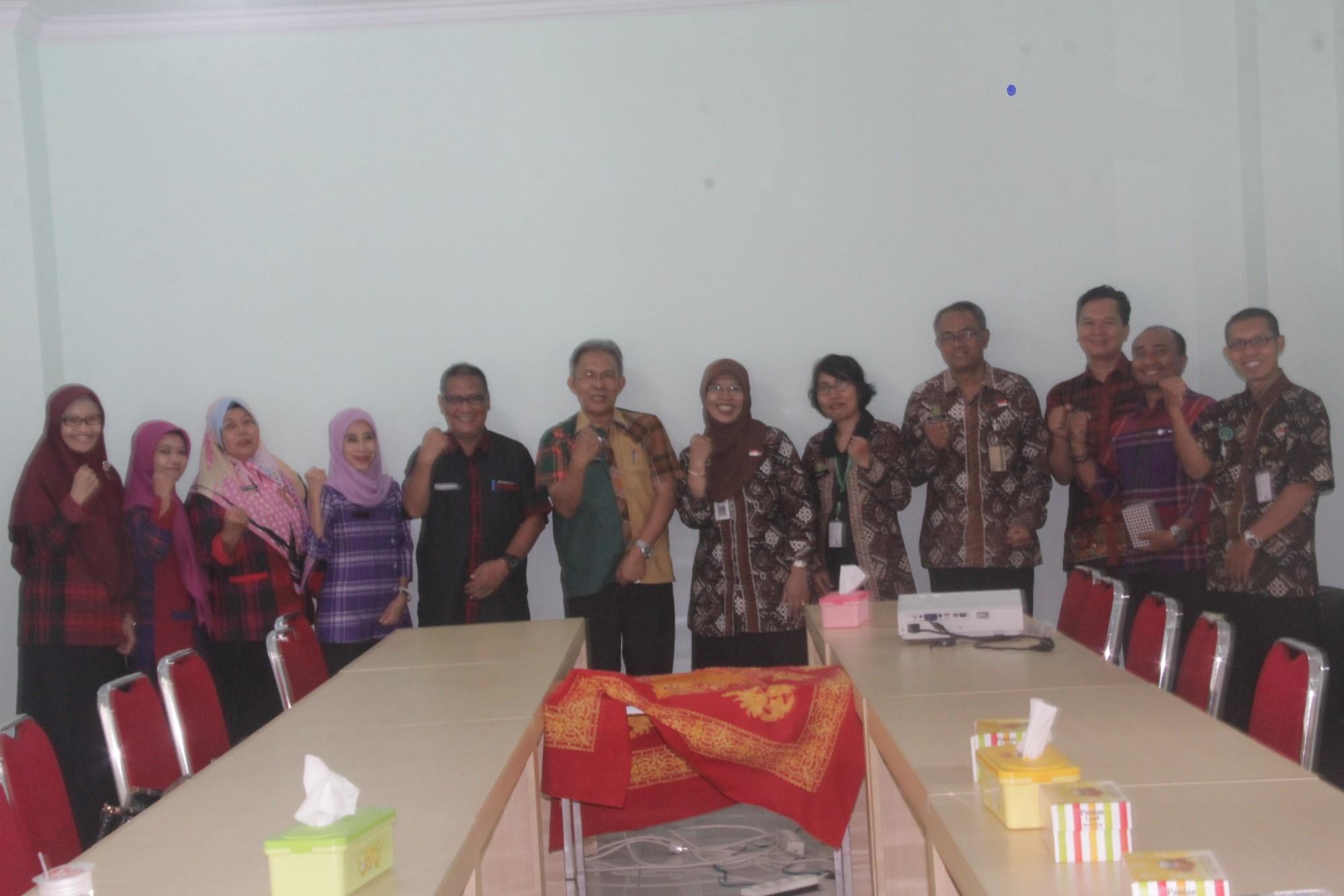 Kunjungan Inspektorat Kota Samarinda. Kamis, 25 April 2019