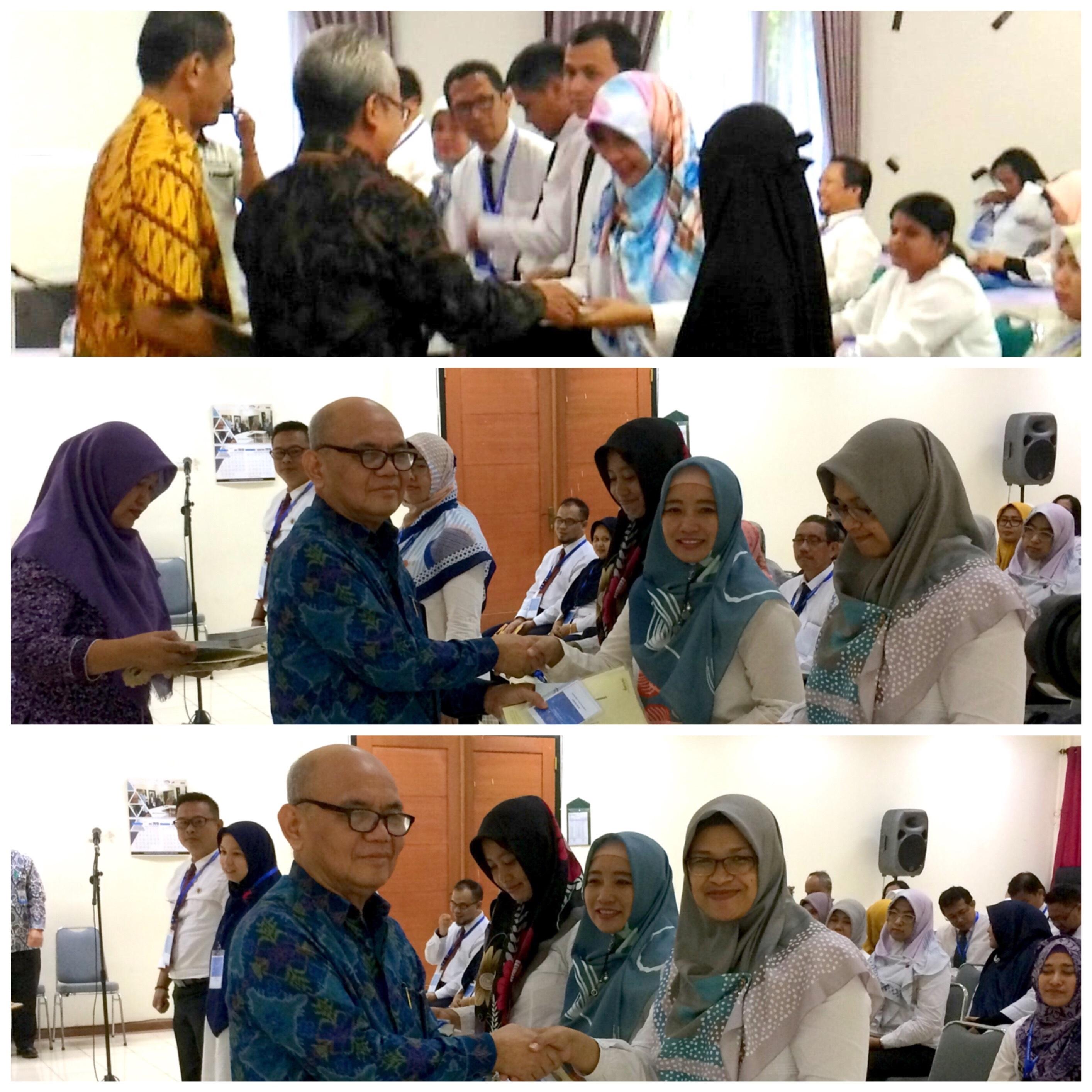 Auditor Inspektorat Kota Yogyakarta Menjadi Peserta Terbaik Diklat PBJ dan AIBR oleh BPKP