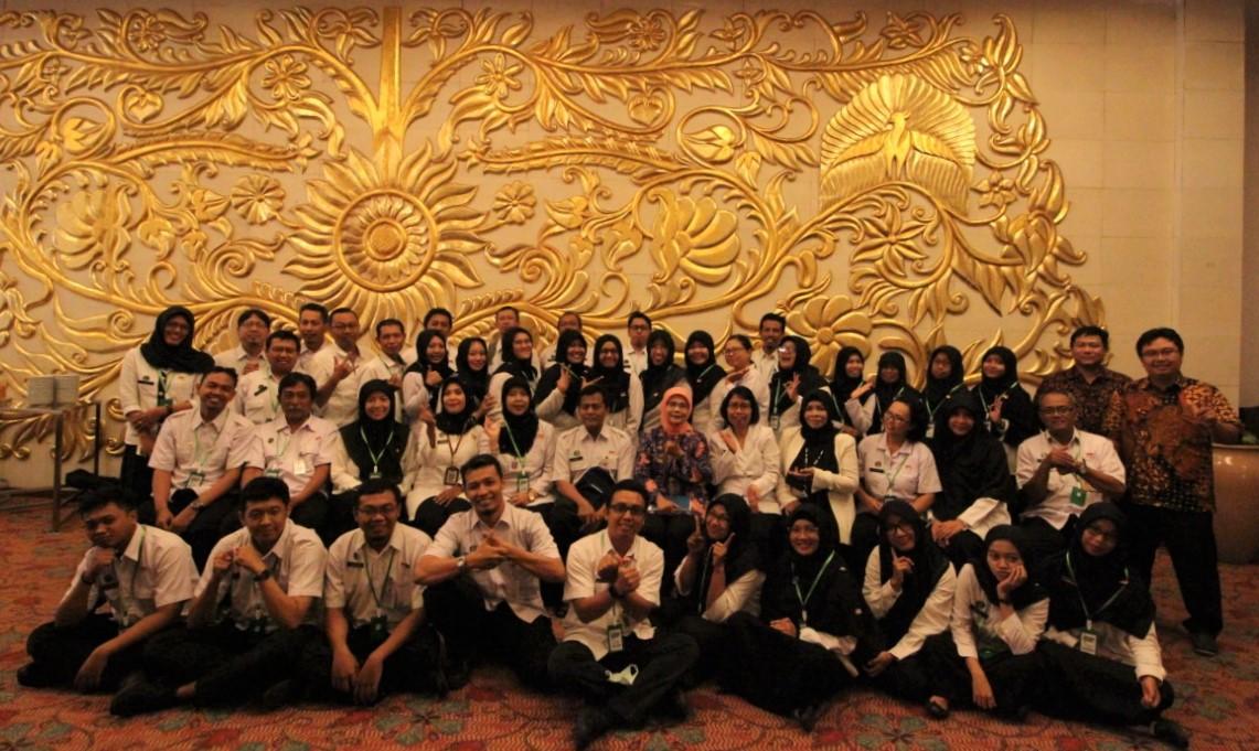Foto Bersama Peserta Bimtek Ev. SAKIP 2020